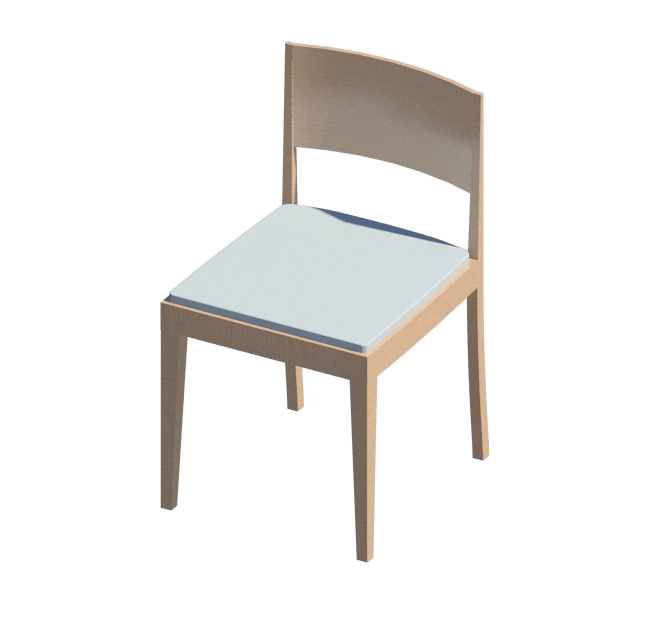Dining chair revit family eduardo blanco castrejón